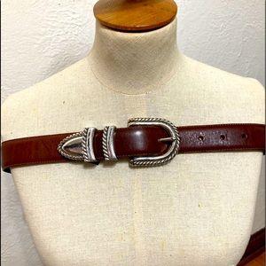 Vintage Brighton Leather Belt